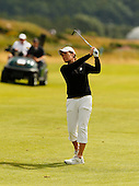 Cartriona Matthew during the final round  of the 2016 Aberdeen Asset Management Ladies Scottish Open played at Dundonald Links Ayrshire from 22nd to 24th July 2016:  Picture Stuart Adams, www.golftourimages.com: 22/07/2016