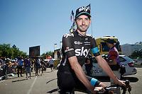 David Lopez (ESP/SKY)<br /> <br /> 2014 Tour de France<br /> stage 12: Bourg-en-Bresse - Saint-Eti&egrave;nne (185km)