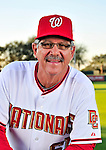 28 February 2010: Washington Nationals Senior Assistant to the General Manager in Player Development and Spring Instructor Tim Foli poses for his Spring Training photo at Space Coast Stadium in Viera, Florida. Mandatory Credit: Ed Wolfstein Photo