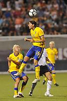 Linda Forsberg...USWNT tied Sweden 1-1 at Morrison Stadium, Omaha Nebraska.