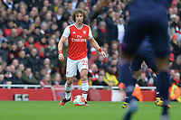 David Luiz of Arsenal FC during Arsenal vs West Ham United, Premier League Football at the Emirates Stadium on 7th March 2020