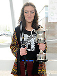 Eabha Nic AnGhirr pictured at the Louth Fleadh Cheoil held in St Oliver's Community College. Photo: Colin Bell/pressphotos.ie