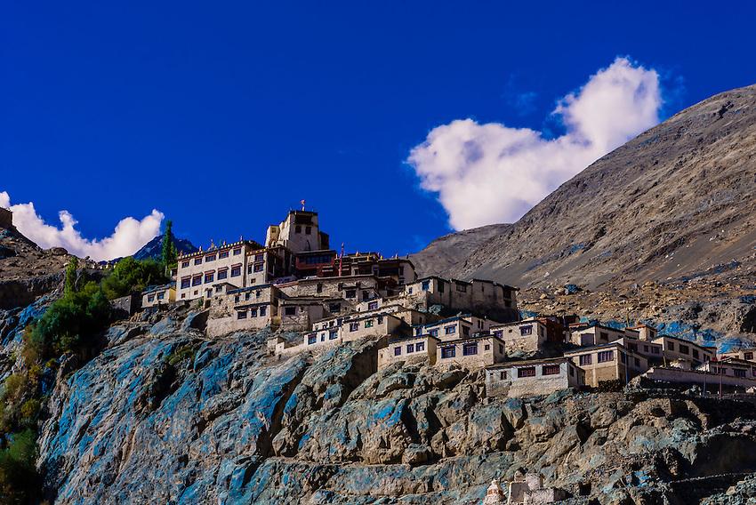 Diskit Monastery,Nubra Valley, Ladakh, Jammu and Kashmir State, India.