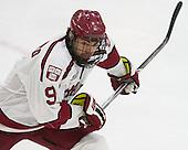 Luke Esposito (Harvard - 9) - The Harvard University Crimson defeated the visiting Brown University Brown Bears 5-2 (EN) on Saturday, November 7, 2015, at Bright-Landry Center in Boston, Massachusetts.