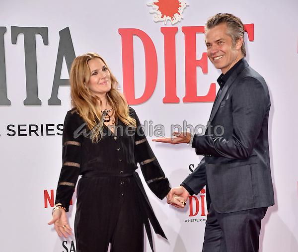 "20 January 2017 - Berlin, Germany - Netflix Screening of ""Santa Clarita Diet"" at Cinestar in the Sony Center. Photo Credit: NicoleKubelka/face to face/AdMedia"