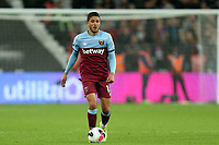 Pablo Fornals of West Ham United during West Ham United vs Crystal Palace, Premier League Football at The London Stadium on 5th October 2019