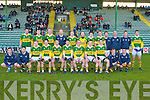 MCGRATH CUP: The Kerry team who beat I.T. Tralee's in the McGrath Cup at Austin Stack Park, Tralee on Sunday.