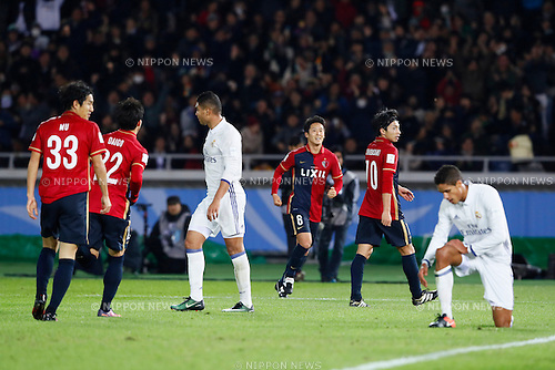 Kashima Antlers team group, <br /> DECEMBER 18, 2016 - Football / Soccer : <br /> FIFA Club World Cup Japan 2016 <br /> Final match between Real Madrid - Kashima Antlers <br /> at Yokohama International Stadium in Kanagawa, Japan.<br /> (Photo by Yohei Osada/AFLO SPORT)