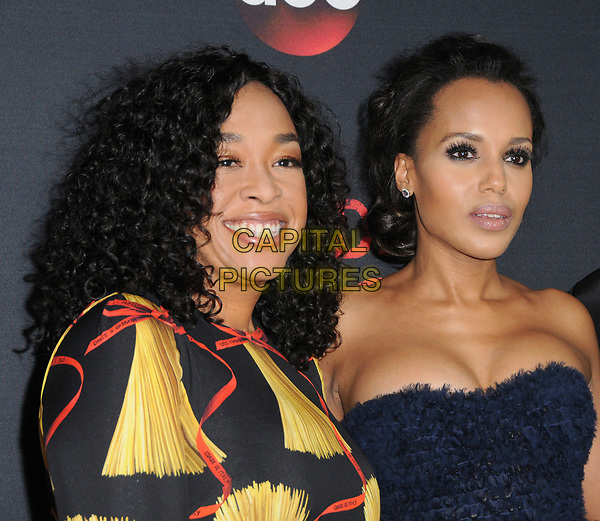 08 April 2017 - West Hollywood, California - Shonda Rhimes, Kerry Washington. ABC's 'Scandal' 100th Episode Celebration held at Fig &amp; Olive in West Hollywood.   <br /> CAP/ADM/BT<br /> &copy;BT/ADM/Capital Pictures