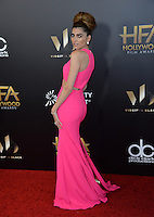 BEVERLY HILLS, CA. November 6, 2016: Actress Blanca Blanco at the 2016 Hollywood Film Awards at the Beverly Hilton Hotel.<br /> Picture: Paul Smith/Featureflash/SilverHub 0208 004 5359/ 07711 972644 Editors@silverhubmedia.com