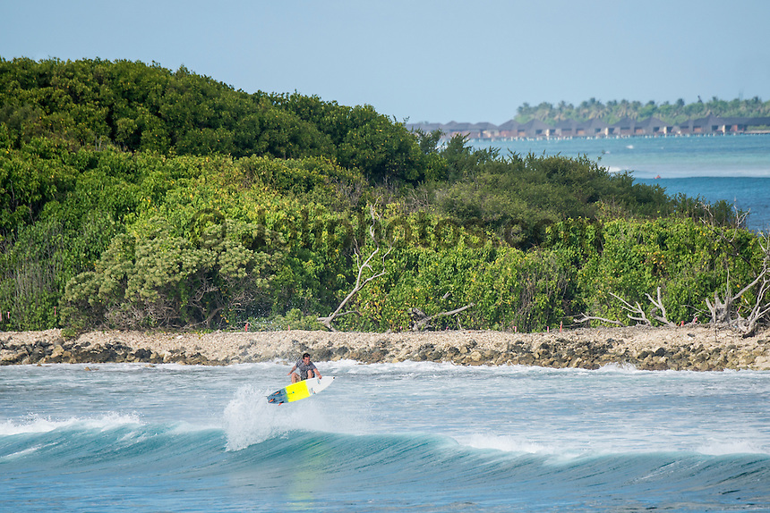 Four Seasons,Kuda Huraa, Maldives (Friday, August 7, 2015) Harley Ingleby (AUS) The worlds 'most luxurious surfing event,' the Four Seasons Maldives Surfing Champions Trophy continued today  at the famed 'Sultans Point' with the Thruster Round.The swell was out of the South East  with waves in the 4'-6' range.  Neco Padaratz (BRA) and Shane Dorian (HAW) fought out the tough final with Dorian scoring a perfect 10 point ride for a deep barrel and the win.  Photo: joliphotos.com