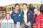 Kelly O'Connor, Paige O'Connor, Michelle and Leona Carey Milltown enjoying the craic at Glenbeigh races at Rossbeigh beach on Sunday.