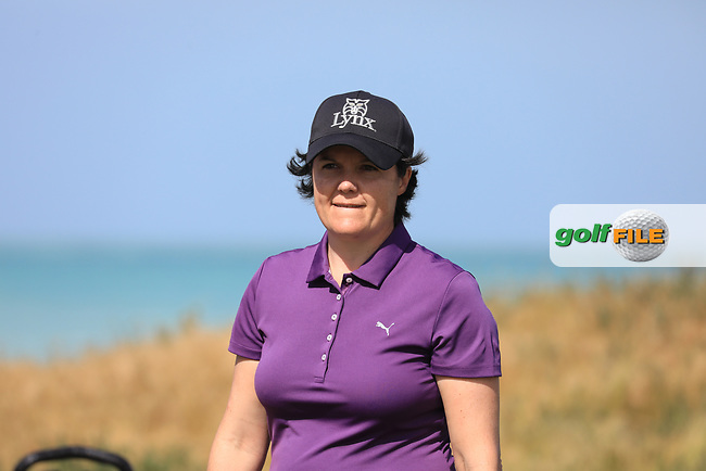 Becky Brewerton (WAL) during the second round of the Fatima Bint Mubarak Ladies Open played at Saadiyat Beach Golf Club, Abu Dhabi, UAE. 11/01/2019<br /> Picture: Golffile | Phil Inglis<br /> <br /> All photo usage must carry mandatory copyright credit (&copy; Golffile | Phil Inglis)