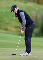 Amelia Garvey. McKayson NZ Women's Golf Open, Round Two, Windross Farm Golf Course, Manukau, Auckland, New Zealand, Friday 29 September 2017.  Photo: Simon Watts/www.bwmedia.co.nz