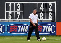 SAO PAULO, SP, 31 DE JANEIRO DE 2012.O tecnico Tite durante Treino do Corinthians no CT Joaquim Grava   - Cangaíba, São Paulo,Brasil(FOTO: ADRIANO LIMA - NEWS FREE)