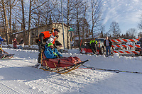 Mats Pettersson on Cordova St. hill during the Anchorage start day of Iditarod 2018 on Cordova St. hill during the Anchorage start day of Iditarod 2019