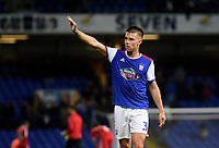 Ipswich Town's Jonas Knudsen applauds the fans at the final whistle <br /> <br /> Photographer Hannah Fountain/CameraSport<br /> <br /> The EFL Sky Bet Championship - Ipswich Town v Middlesbrough - Tuesday 2nd October 2018 - Portman Road - Ipswich<br /> <br /> World Copyright &copy; 2018 CameraSport. All rights reserved. 43 Linden Ave. Countesthorpe. Leicester. England. LE8 5PG - Tel: +44 (0) 116 277 4147 - admin@camerasport.com - www.camerasport.com
