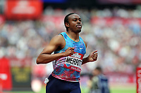 Aries Merritt of USA after competing in the menís 110 metres hurdles during the Muller Anniversary Games at The London Stadium on 9th July 2017