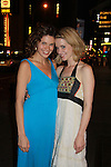 Opening Night of Manipulation and after party at Sardis - Mandy Bruno poses with friend Rachel on June 28, 2011 at the Cherry Lane Theatre, New York City, New York. (Photo by Sue Coflin/Max Photos)