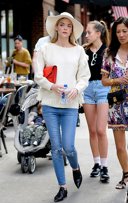 WWW.ACEPIXS.COM<br /> <br /> May 5 2015, New york City<br /> <br /> Actress Jaime King walks in Tribeca on May 5 2015 in New York City<br /> <br /> By Line: Curtis Means/ACE Pictures<br /> <br /> <br /> ACE Pictures, Inc.<br /> tel: 646 769 0430<br /> Email: info@acepixs.com<br /> www.acepixs.com