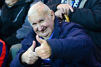 A Preston North End fans gives a thumbs up<br /> <br /> Photographer Richard Martin-Roberts/CameraSport<br /> <br /> The EFL Sky Bet Championship - Preston North End v Blackburn Rovers - Saturday 24th November 2018 - Deepdale Stadium - Preston<br /> <br /> World Copyright © 2018 CameraSport. All rights reserved. 43 Linden Ave. Countesthorpe. Leicester. England. LE8 5PG - Tel: +44 (0) 116 277 4147 - admin@camerasport.com - www.camerasport.com