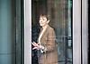 Andrew Marr Show <br /> departures <br /> BBC, Broadcasting House, London, Great Britain <br /> 2nd April 2017 <br /> <br /> <br /> Caroline Lucas <br /> Green Party <br /> <br /> <br /> Photograph by Elliott Franks <br /> Image licensed to Elliott Franks Photography Services