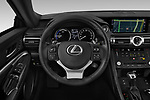 Car pictures of steering wheel view of a 2019 Lexus RC RC 300h Executive 2 Door Coupe