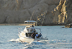 Sportfishing near Land's End at Cabo san Lucas