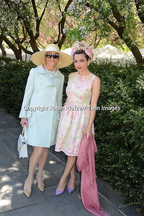 Lorry Newhouse and Stephanie Newhouse the 31st Annual Frederick Law Olmsted Awards Luncheon  by the Central Park Conservancy Women's Committee on May 1, 2013 at the Central Park Conservancy in New York City.