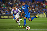 Getafe CF's Mauro Arambarri and Real Valladolid's Moises Delgado 'Moi' during La Liga match. August 31, 2018. (ALTERPHOTOS/A. Perez Meca)