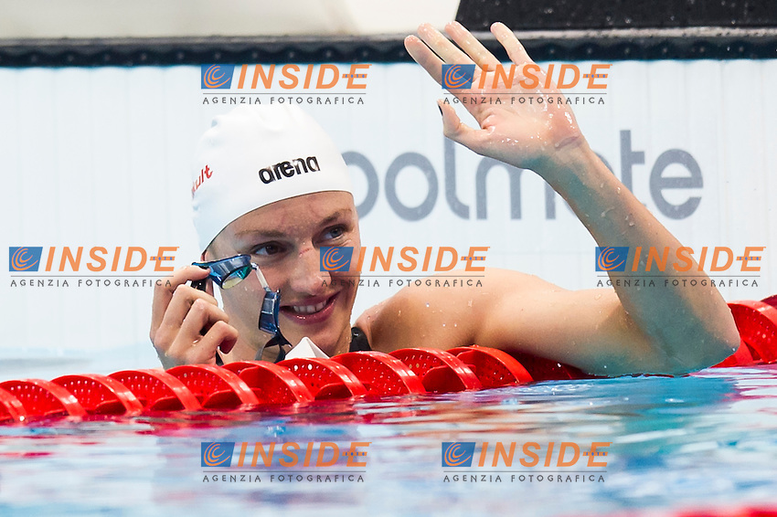 HOSSZU Katinka HUN gold medal<br /> London, Queen Elizabeth II Olympic Park Pool <br /> LEN 2016 European Aquatics Elite Championships <br /> Swimming<br /> Women's 200m medley final  <br /> Day 11 19-05-2016<br /> Photo Giorgio Perottino/Deepbluemedia/Insidefoto