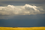 Clouds over the landscape, Thunder Basin National Grassland, Wyoming