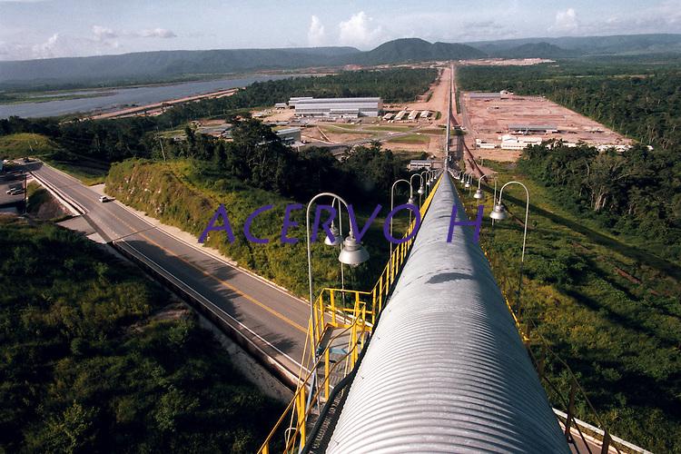 Processo de produção de cobre.<br /> Projeto Sossego, Vale do Rio Doce.<br /> Canaã dos Carajás, Pará, Brasil.<br /> Foto Paulo Santos<br /> 2004