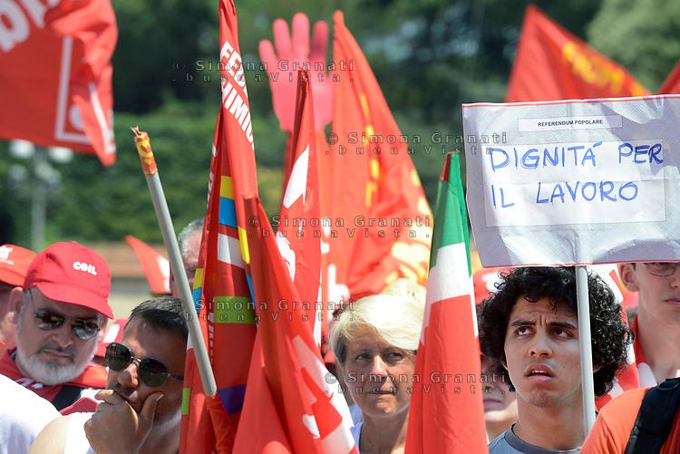 Roma, 17 Giugno 2017<br /> Dignit&agrave; per il lavoro<br /> Manifestazione nazionale CGIL. Rispetto per il lavoro la democrazia e la Costituzione, contro i Voucher