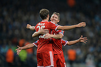 Fussball Champions League 2013/14: Manchester City - FC Bayern Muenchen