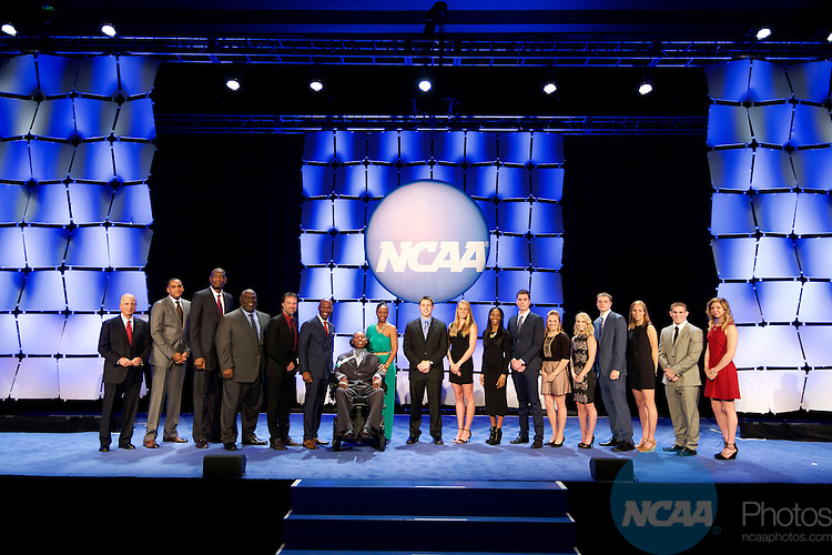 15 JAN 2016:  The NCAA Honor's Celebration takes place during the 2016 NCAA Convention at the Grand Hyatt San Antonio in San Antonio, TX.   Jamie Schwaberow/NCAA Photos
