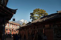 Old City, Lijiang, Yunnan, China. 10 November 2012.