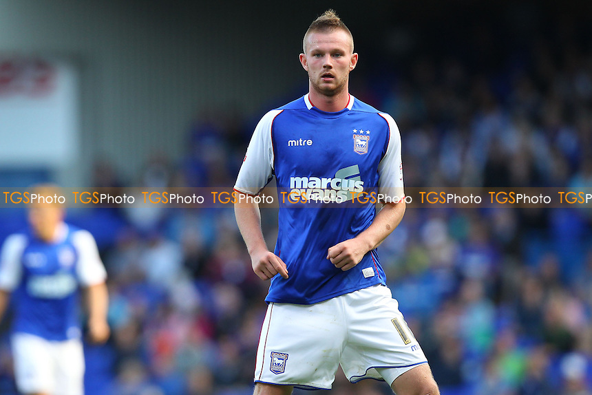Ryan Tunnicliffe of Ipswich Town - Ipswich Town vs Brighton & Hove Albion - Sky Bet Championship Football at Portman Road, Ipswich, Suffolk - 28/09/13 - MANDATORY CREDIT: Gavin Ellis/TGSPHOTO - Self billing applies where appropriate - 0845 094 6026 - contact@tgsphoto.co.uk - NO UNPAID USE
