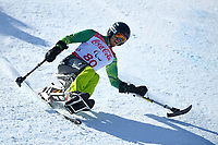 &circ;Day 2 / Super GS / Sam Tait<br /> PyeongChang 2018 Paralympic Games<br /> Australian Paralympic Committee<br /> PyeongChang South Korea<br /> Sunday March 11th 2018<br /> &copy; Sport the library / Jeff Crow