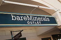 BareMinerals Outlet is pictured in Tanger Outlets in Sevierville,  Tennessee Thursday March 20, 2014.