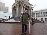 Gedenken auf dem Maidan