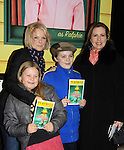 12-19-12 Martha Byrne - Maura West & daughter Kate & Joe who stars in A Christmas Story NYC