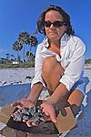Erin Mcmichael W/loggerhead Hatchlings