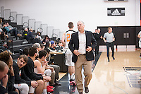 Brian Newhall, head men's basketball coach<br />