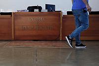 Roma, 20 Settembre 2019<br /> Aula bunker di Rebibbia.<br /> La legge è uguale per tutti.<br /> Processo Cucchi Bis, requisitoria del PM Giovanni Musarò.<br />  Processo Cucchi Bis contro i Carabinieri accusati della morte di Stefano Cucchi