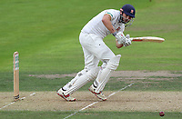 Nick Browne of Essex in batting action during Nottinghamshire CCC vs Essex CCC, Specsavers County Championship Division 1 Cricket at Trent Bridge on 10th September 2018