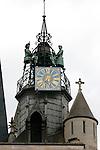 20050519 - France - Dijon<br /> REPORTAGE SUR LA VILLE DE DIJON : LE JACQUEMART DE L'EGLISE NOTRE-DAME<br /> Ref: DIJON_001-148 - © Philippe Noisette