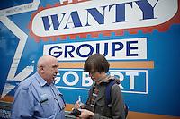 DS Hilaire Van der Schueren (BEL/Wanty-Groupe Gobert)<br /> <br /> 54th Druivenkoers 2014<br /> Huldenberg - Overijse (Belgium): 196km