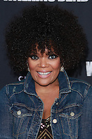 UNIVERSAL CITY, CA, USA - OCTOBER 02: Yvette Nicole Brown arrives at the Los Angeles Premiere Of AMC's 'The Walking Dead' Season 5 held at AMC Universal City Walk on October 2, 2014 in Universal City, California, United States. (Photo by David Acosta/Celebrity Monitor)