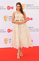 Anna Passey at the Virgin TV British Academy (BAFTA) Television Awards 2018, Royal Festival Hall, Belvedere Road, London, England, UK, on Sunday 13 May 2018.<br /> CAP/CAN<br /> &copy;CAN/Capital Pictures
